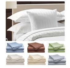 deluxe hotel 300 thread count 100 cotton sateen sheet set dobby