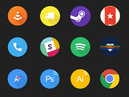 design icons free set of circular material design icons