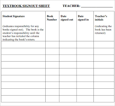 Sign In Out Sheet Template Sign Out Sheet Thebridgesummit Co