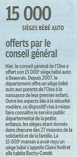 siege auto conseil 20120309 lep oise 15 000e siège auto offert par le conseil général