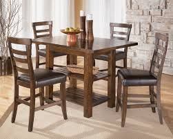 furniture elegant idea of bar height dining table set for large