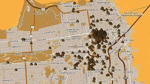 Downtown San Francisco Map by San Francisco U0027s Homeless Problem As Viewed Through Human Co