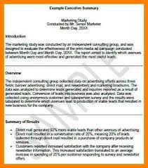 9 apa format executive summary template introduce letter