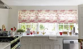Patterned Roman Blinds Bblocksonline Com Page 6 Charming Traditional Dining Room