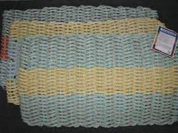 Crochet Doormat Recycled Makes A Great Doormat National Marine Life Center