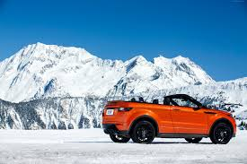 orange range rover wallpaper range rover evoque convertible cabriolet orange cars