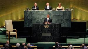 obama at desk obama gives his final speech before u n general assembly the
