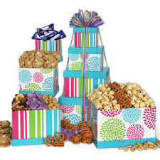 treats for gift tower by gourmetgiftbaskets