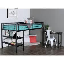 desk and bookshelves bunk beds u0026 loft beds with desks wayfair
