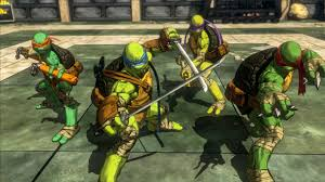 teenage mutant ninja turtles mutants manhattan game ps4