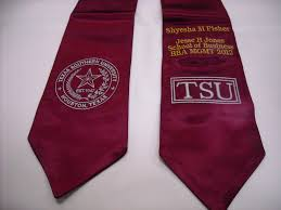 custom stoles graduation stole or sash embroidery in houston instant