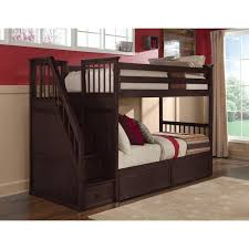 Stair Bunk Schoolhouse NE Kids - Ne kids bunk beds