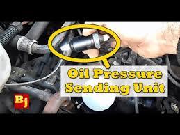 2001 jeep grand pressure sending unit how to change an pressure sensor