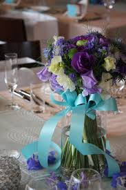 Tiffany Blue Wedding Centerpiece Ideas by 16 Best Purple Wedding Images On Pinterest Purple Wedding