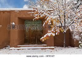 an adobe style home in the arroyo tierra blanca neighborhood after