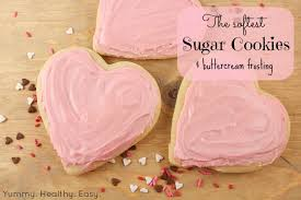 the softest sugar cookies u0026 buttercream frosting yummy healthy easy