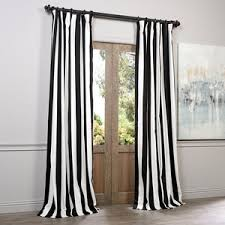 Grey White Striped Curtains Striped Curtains Horizontal Striped Curtains Panels