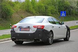 new maserati ghibli 2018 maserati ghibli facelift spied up close is this the new 450