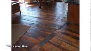 Laminate Wide Plank Flooring Wide Plank Flooring Youtube