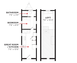 Micro Homes Floor Plans Tiny House Plans For Sale Chuckturner Us Chuckturner Us