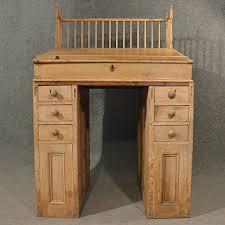 Antique Pine Computer Desk by Antique Standing Desk Study Office Clerks Bureau Workspace