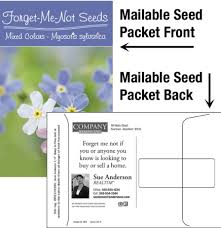 forget me not seed packets ideas magnify your brand