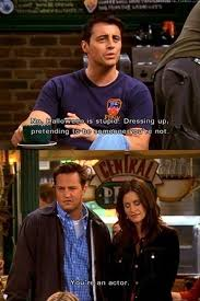 Joey Friends Meme - charming life pattern friends quote f r i e n d s