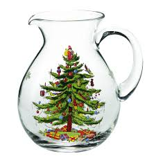 spode tree glass pitcher spode usa