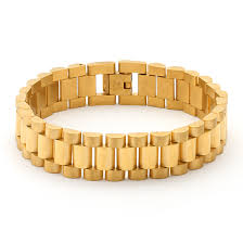 links style bracelet images 15mm stainless steel gold rolex link bracelet king ice powered jpeg