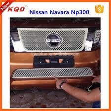 nissan frontier np300 accessories high identification car accessories plastic front grille trims for