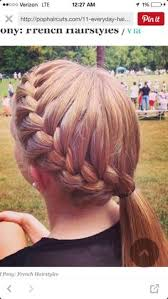 Cute Sporty Hairstyles Cute Track And Field Hairstyle Mix Pinterest Fields Sport