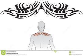 tribal upper back tattoo designs danielhuscroft com