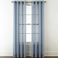Dusty Blue Curtains Blue Curtains U0026 Drapes For Window Jcpenney