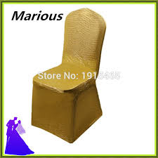 Gold Spandex Chair Covers Compare Prices On Wedding Chair Covers Gold Online Shopping Buy
