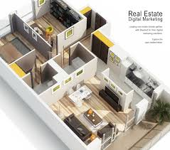 Real Estate Marketing Floor Plans by Real Estate Bluetext