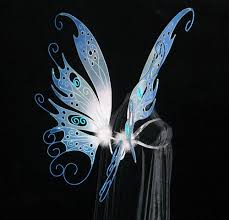 light up fairy wings wings open