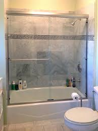Sliding Bathtub Shower Doors Frameless Shower Door Installation Sliding Tub Doors Bathtub Barn