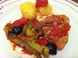 cuisiner poivron poulet aux poivrons doux pollo con peperoni envie de cuisiner