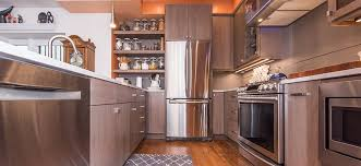 kitchen with stainless steel appliances modern condo kitchen in washington dc with stainless steel