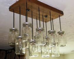 5 Jar Chandelier Lovely Decoration Jar Dining Room Light Outstanding 5