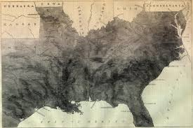 Map Of The Southern States by Slave Map