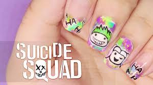squad nail art youtube