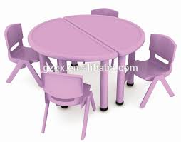 impressive on folding table and chairs for kids agzhou factory low kids plastic table and