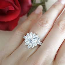 3 carat diamond engagement ring 3 carat halo engagement ring products on wanelo