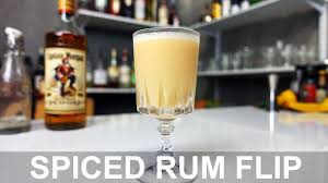 spiced rum flip cocktail recipe youtube
