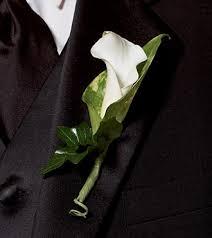 calla boutonniere calla promise boutonniere royal fleur florist larkspur