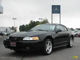 Black Mustang Gt 1999 Black Ford Mustang Gt Coupe 16454139 Gtcarlot Com Car
