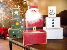 best 25 christmas wood block crafts ideas on pinterest