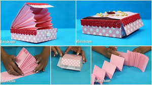 Paper Crafts - diy paper crafts easy paper magic gift box step by step