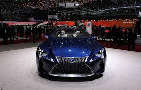 toyota lexus lf lc geneva 2013 lexus lf lc blue concept